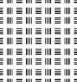 seamless black line abstract pattern vector image