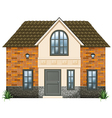 A big house vector image