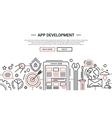 app development - line design website banner