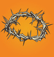 crown thorns vector image vector image
