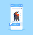 fat obese couple dancing together overweight vector image