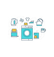 Home Appliance vector image vector image