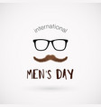 International men day poster