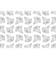 ivy leaf pattern vector image
