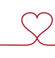 Line heart icon love symbol valentines
