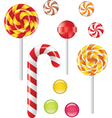 lollipop vector image