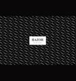 razor blade pattern vector image
