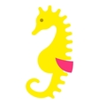 sea horse seahorse pony icon isolated vector image vector image