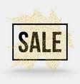 typographic sale vector image