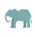 cartoon elephant vector image