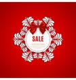 Christmas sale design template Christmas sale vector image vector image