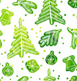 Christmas seamless cute pattern