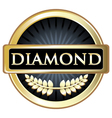 Diamond Black Label vector image vector image