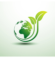 green earth3 vector image vector image