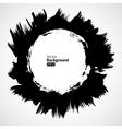 grunge circle frames set vector image vector image