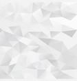 polygon background vector image vector image