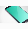 realistic modern smartphone concept vector image vector image