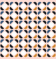abstract seamless geometric pattern with vector image vector image