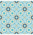 blue seamless ornament vector image vector image