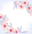 dog-rose blooms wild rose background vector image vector image