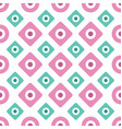 floral daisy seamless pattern vector image vector image