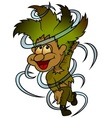 forest elf vector image vector image