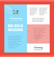 graveyard business company poster template with vector image