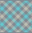 Gray blue diagonal checkered plaid seamless