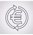 money euro icon vector image