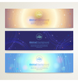 Banner Abstract background vector image vector image