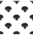Champignon icon in black style isolated on white vector image vector image