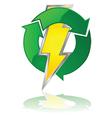 Reusable energy vector image vector image