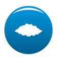 storm icon blue vector image vector image