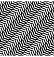 Abstract Black and White Herringbone Seamless Pa vector image vector image