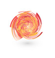 abstract hurricane natural vector image vector image