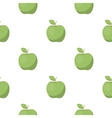Apple icon cartoon Singe fruit icon vector image vector image