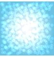Bokeh blue vector image