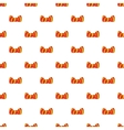 Butterfly tie pattern cartoon style vector image vector image
