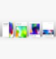 flyer layout minimal elegant template for brochur vector image vector image