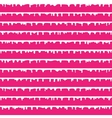Stripes with paint drops seamless pattern vector image