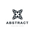 abstract company logo design business template vector image vector image