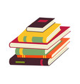 book icon books in various angles vector image vector image