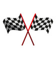 final lap flags icon image vector image vector image