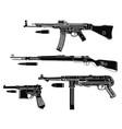 germany guns vector image