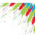 ink splat design vector image vector image