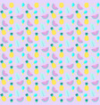 pattern with fruits vector image vector image