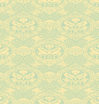 seamless floral antique pattern light vector image vector image