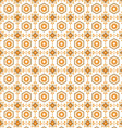 seamless pattern retro vector image vector image
