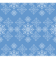 Snowflakes ornament vector image vector image