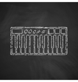 synthesizer icon vector image vector image